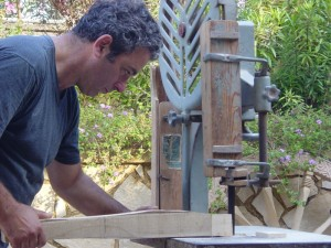 Marcello La Scala impegnato nella preparazione del iammozzo