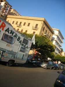 Stranabanca in piazza Cavour ad Agrigento