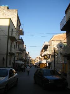 Corso Umberto I - via principale di San Biagio Platani