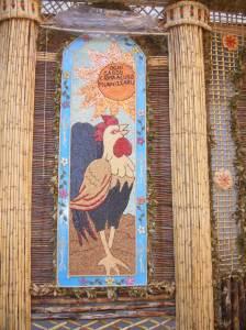 Gallo - Arco di Pasqua San Biagio Platani - Ogni gaddu canta a lu so' munnizzaru