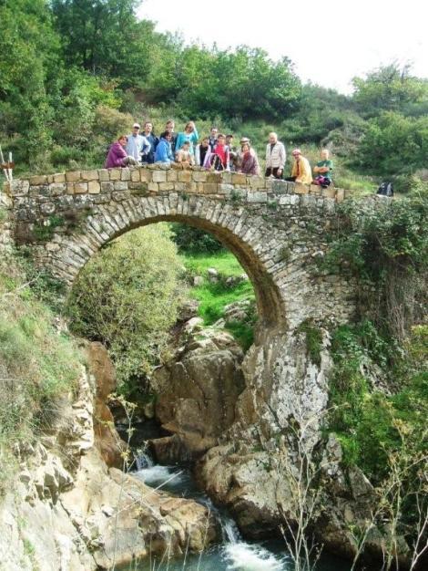 Escursione del Cai di Cefalu' al Ponte San Brancato (Petralia)