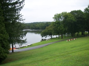 Akiba lake in the Poconos