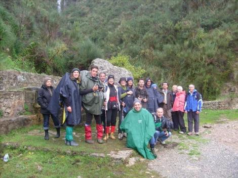 I soci del Cai di Cefalu' in escursione alle Cascate del Catafurco